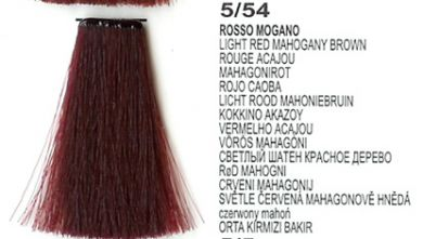 5 54 Light Red Mahogany Brown Lk Creamcolor 100g Beauty