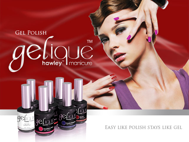 Hawley Gelique-Gel Polishes