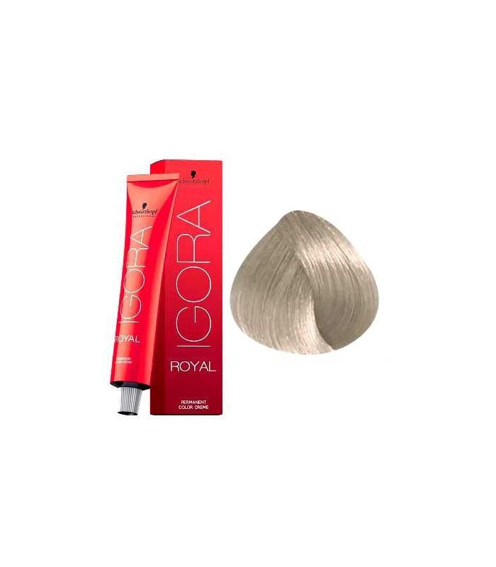 48acadf767 SCHWARZKOPF PROFESSIONAL IGORA ROYAL HAIR COLOR 9-1 Extra Light Blonde  Cendre 60mL - Beauty Salon Hairdressing Equipment & Supplies