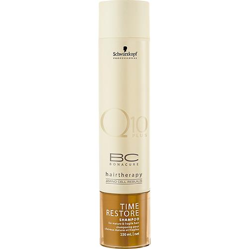 185909bda9 Schwarzkopf Bc Bonacure Time Restore Q10 Plus Shampoo 250mL - Beauty Salon  Hairdressing Equipment & Supplies