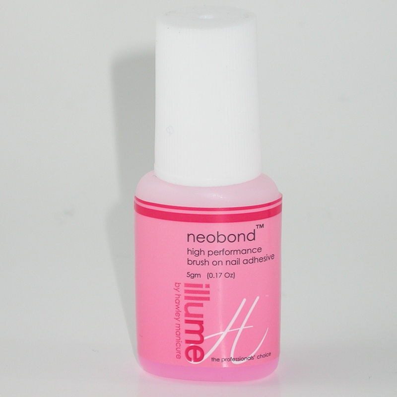 HAWLEY ILLUME Neobond Nail Glue Adhesive 5mL Brush on Bottle ...