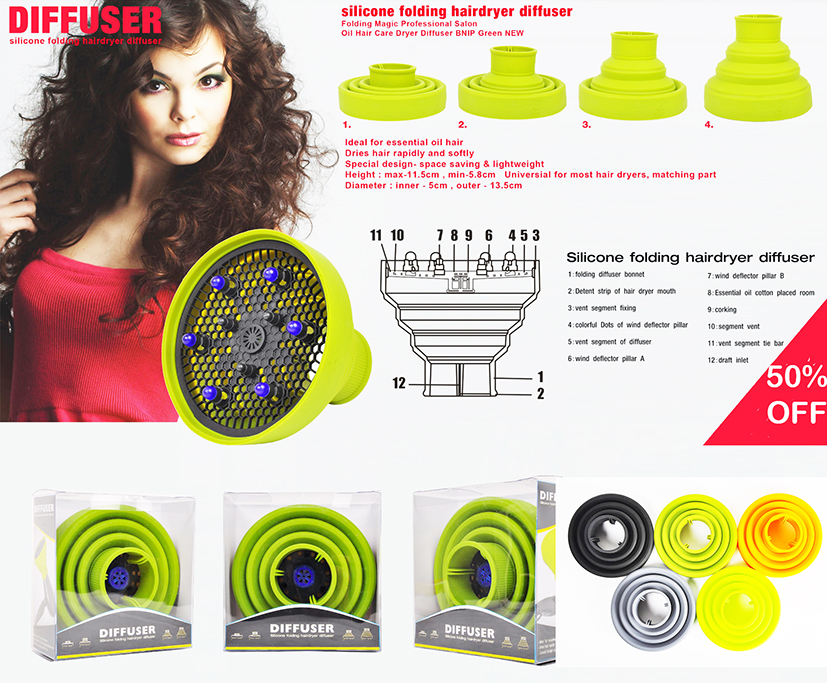 Hairdryer Diffusers