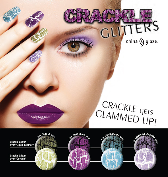 China Glaze Crackle Lacquers