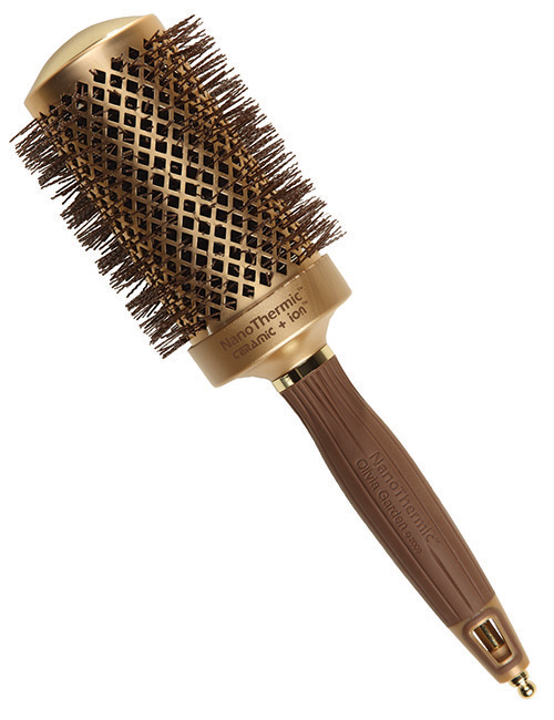 Olivia garden nanothermic ceramic ion round hair brush 2 1 8 beauty salon hairdressing Olivia garden nanothermic brush