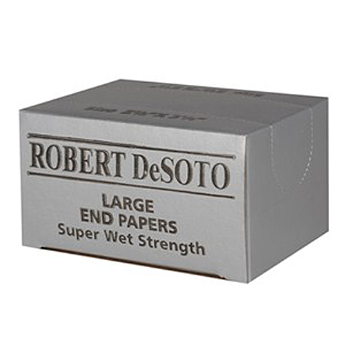 ROBERT DESOTO LARGE END PAPERS SUPER WET STRENGTH