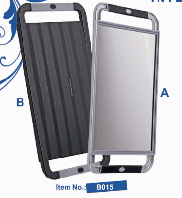 Large Rectangular Tray Mirror-Dual Handle-B015