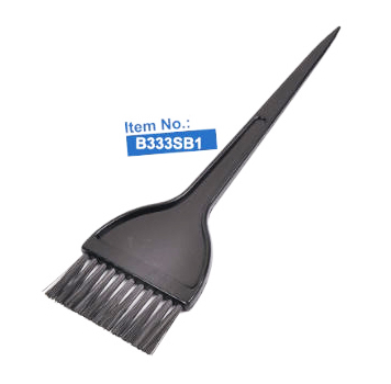 B333SB1-Salon Says Premium Solid Dark Charcoal Tinting Brush