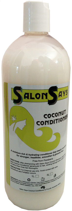 Salon Says Coconut Conditioner 1000ml