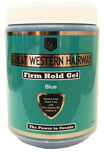 Great Western Hairway Hair Gel Firm Hold Blue 1Kg