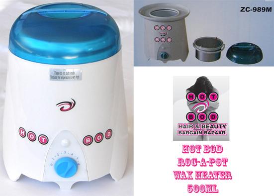 Hot Bod Roc-A-Pot Wax Heater 500cc - Only $54.95 !!!