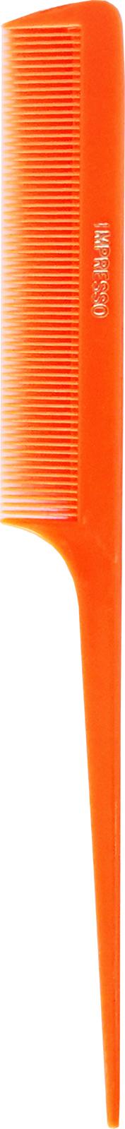 """Tri-Pack Impresso Neon Rat Tail Comb 8.5""""- Orange"""