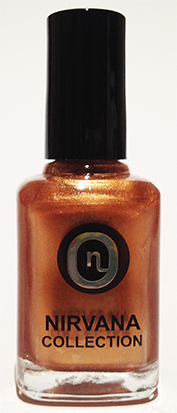 NCNP25-Nirvana Collection Nail Polish 14ml-Antique Gold (25)