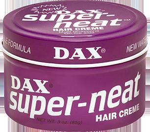 Dax Super Neat Hair Wax 3.5Oz (99gm)