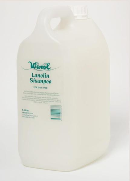WAVOL LANOLIN SHAMPOO-5 Litres