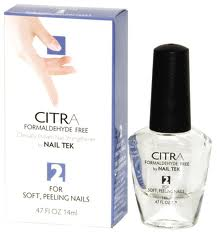 Nail Tek Citra II 0.47 Oz-Formaldhyde Free Natural Citrus Formula For Soft, Peeling Nails