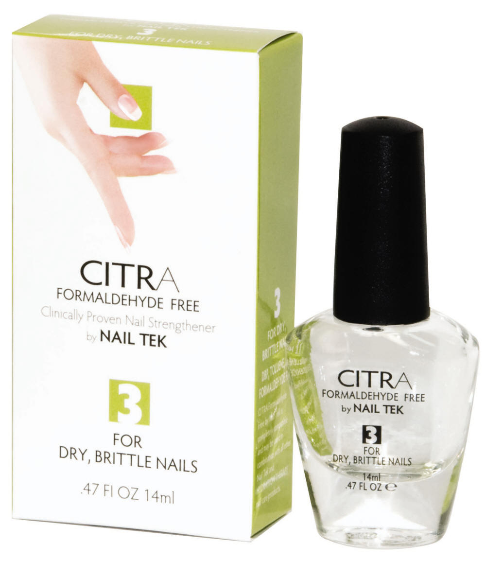 Nail Tek Citra III 0.47 Oz-Formaldhyde Free Natural Citrus Formula For Dry, Brittle Nails