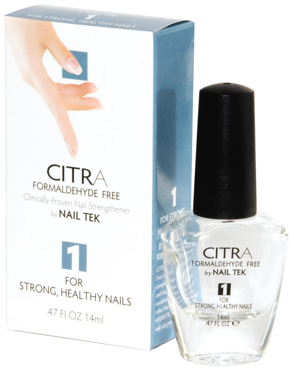 Nail Tek Citra I  0.47 Oz-Formaldhyde Free Natural Citrus Formula For Strong, Healthy Nails