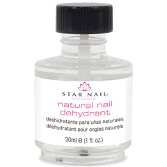 Natural Nail Dehydrant-Dehydrates the natural nail surface and balances the pH for maximum adhesion of acrylics, tips, polish and glue-1 Fl Oz