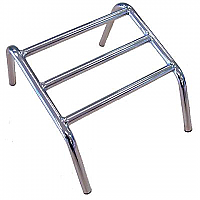 Foot Rest - 3 Bar Chrome