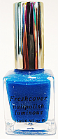 Luminart Neon Glow in the Dark Nail Polishes 15ml-Azure