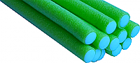 Bendy (Flexible Foam) Rollers -Lime Green-pack of 12 (Dia 10mm x  L 240mm)