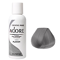 ADORE SEMI PERMANENT HAIR COLOR PLATINUM - 150 118mL