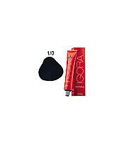 SCHWARZKOPF PROFESSIONAL IGORA ROYAL HAIR COLOR 1-0 BLACK 60mL
