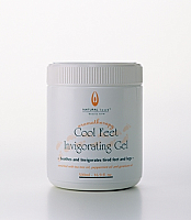 Natural Look Aromatherapy Cool Feet Invigorating Gel 600g