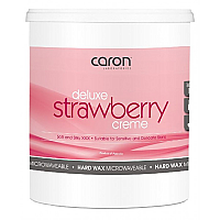Caron Strawberry Creme Microwaveable Hard Wax 800g