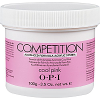 OPI COMPETITION POWDER ADVANCED FORMULA ACRYLIC SYSTEM COOL PINK 100g