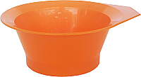 Pack of 3 Plastic Tint Bowl Solid Orange Colour
