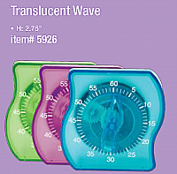 Wave Timer (60min)-Transluscent Purple