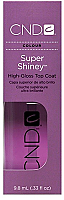 CND Super Shiney High Gloss Topcoat 9.8 mL ( .33 oz)