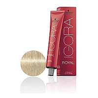 SCHWARZKOPF PROFESSIONAL IGORA ROYAL HAIR COLOR 10-1 Ultra Blonde Cendre 60g
