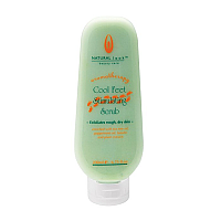 Natural Look Aromatherapy Cool Feet Stimulating Scrub 200ml