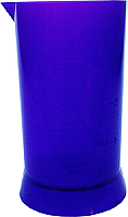 Measuring Cylinder 100ml Purple