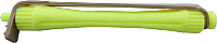 Perm Rods-LIGHT WEIGHT STYLE Perm Rods (1141) - Price per bag of 12 rods -Fluoro Yellow (80mm long x 8mm central dia)