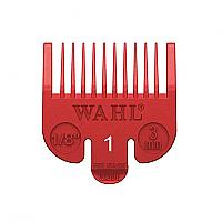 "Wahl Clipper Comb Attachment No.1 size  1/8"" (3mm) Red"