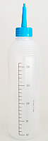 Applicator Bottle (white) with Blue Dispenser Lid 240ml