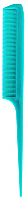 Stylers Tail Comb in Solid Colours-Blue/Green