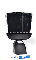 Neck Duster Brush T Handle Black