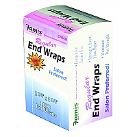 "Famis Regular- Box of 1000 2"" x 3"" Regular End Wraps Perm Papers"