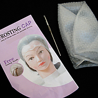 Salon Says Frosting Cap with Needle in Zippered Polybag