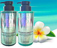 K.O.L Kiss Of Life Beach Reviva Shampoo & Conditioner Combo 1000ml each