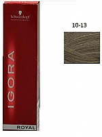 SCHWARZKOPF PROFESSIONAL IGORA ROYAL HAIR COLOR 10-13 Ultra Blonde Cendre Matt 60g