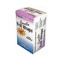 "Famis Jumbo- Box of 1000 2.5""x3"" Jumbo End Wraps 1000 Sheets - Perm Papers"