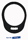Round Mirror-Large with Foam Cushion and One Handle (R-118)