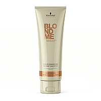 Schwarzkopf Blondme Color Enhancing Blonde Shampoo - Rich Caramel ( Revives Warm Blondes ) 250ml