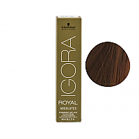 SCHWARZKOPF PROFESSIONAL IGORA ROYAL HAIR COLOR 6-07 Dark Blonde Natural Copper 60mL
