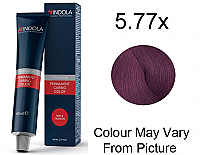 Indola Profession Permanent Hair Colour - 5.77x Light Brown Extra Violet 60g